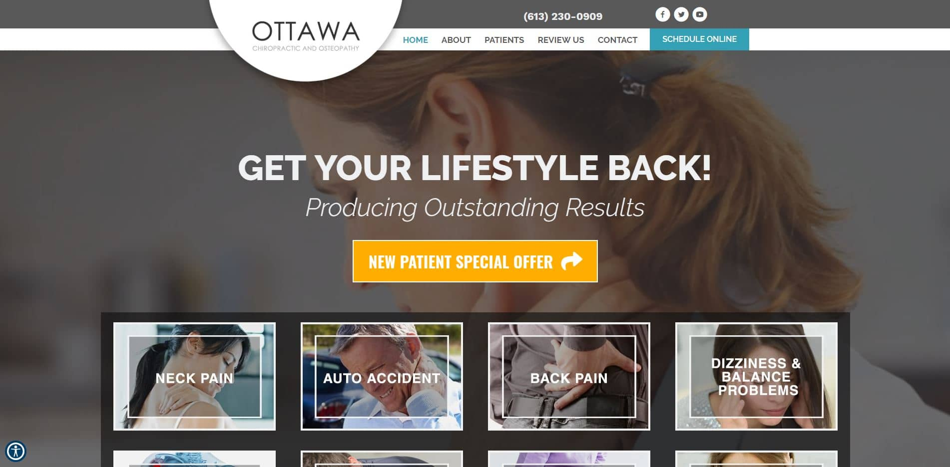 Chiropractor in Ottawa