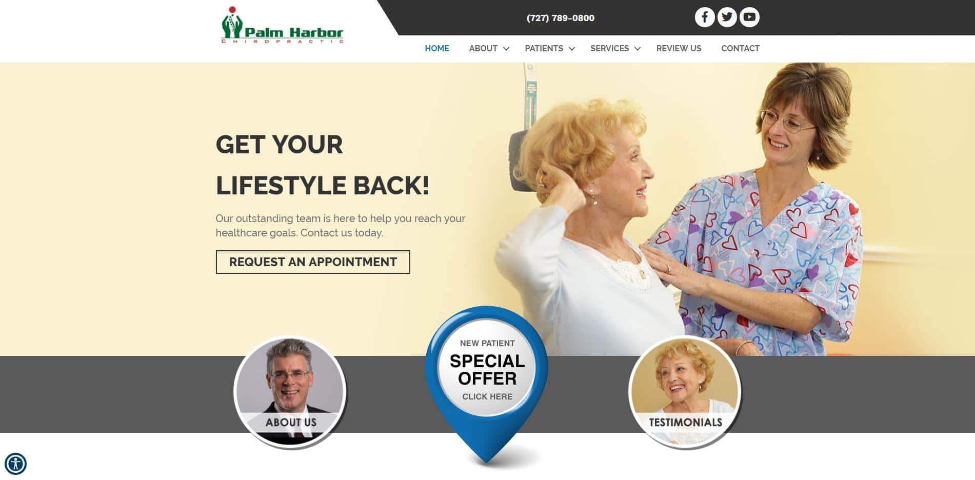 Chiropractor in Palm Harbor