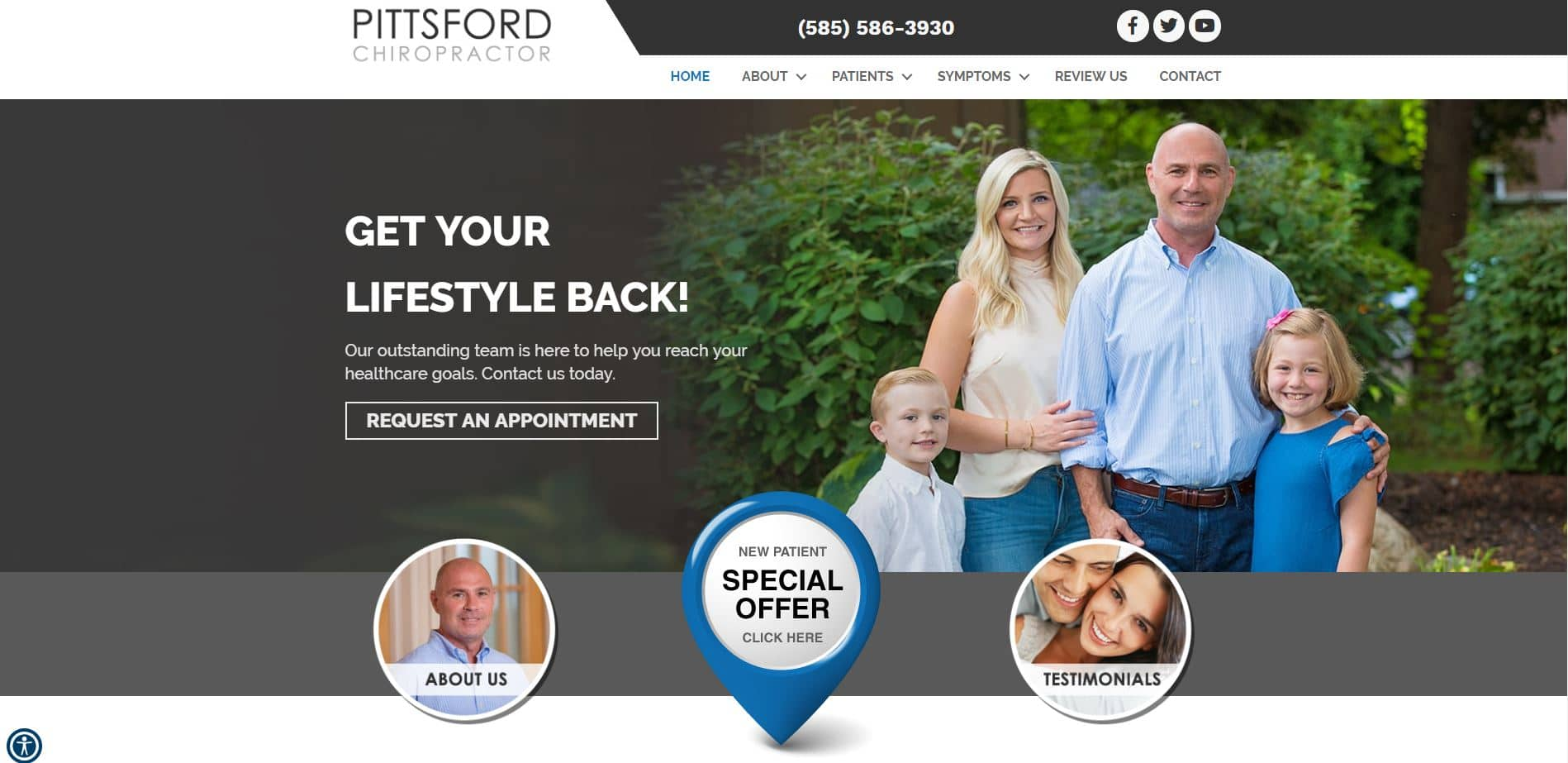 Chiropractor in Pittsford