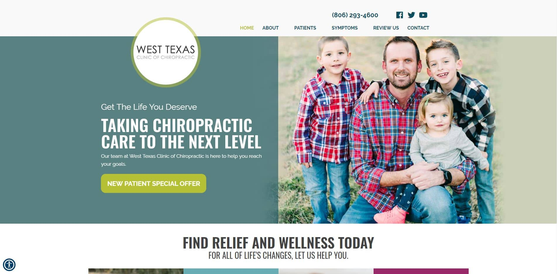 Chiropractor in Plainview