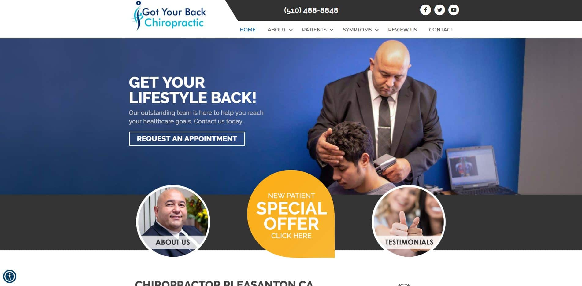 Chiropractor in Pleasanton