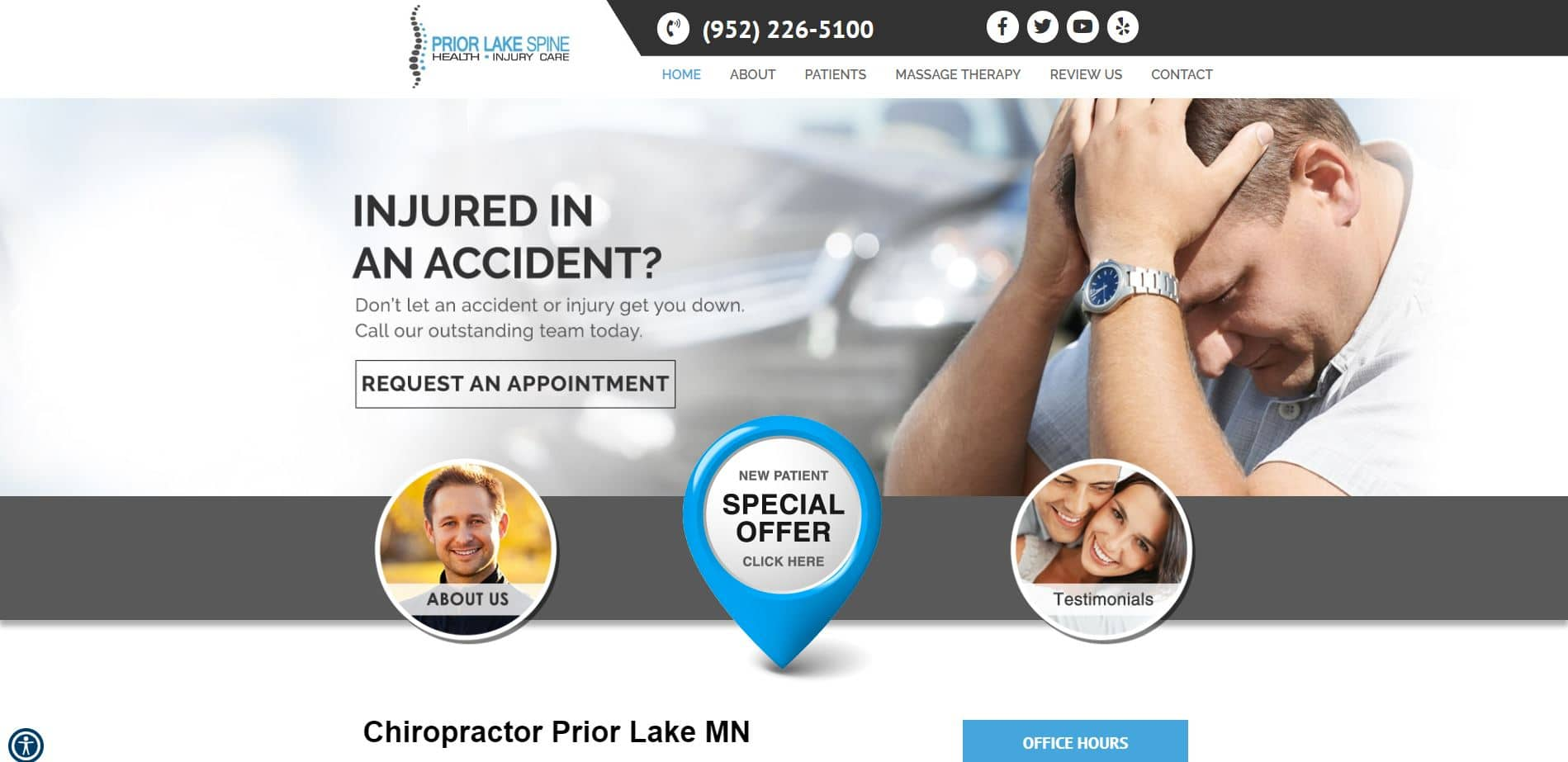 Chiropractor in Prior Lake