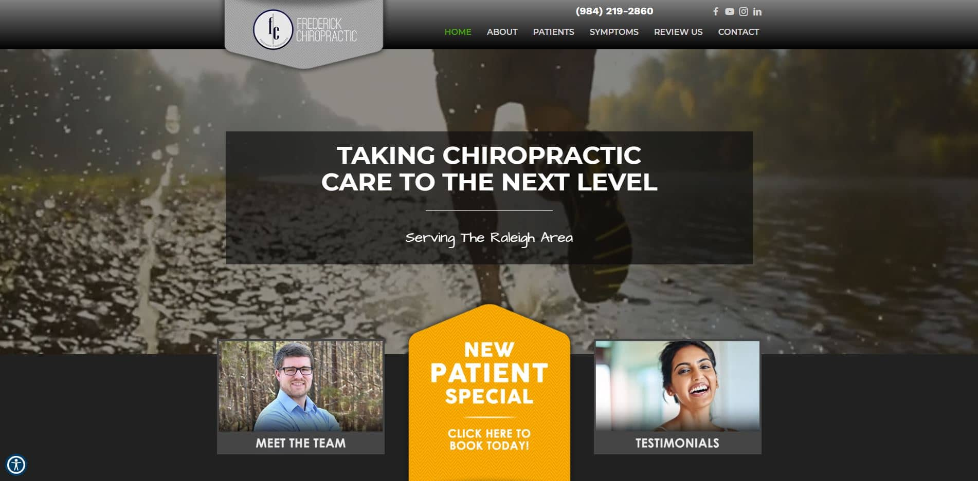 Chiropractor in Raleigh