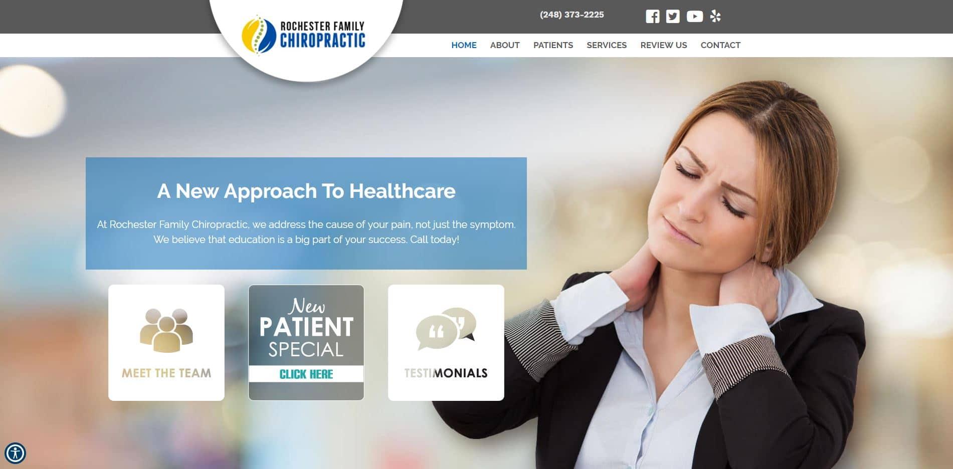 Chiropractor in Rochester Hills