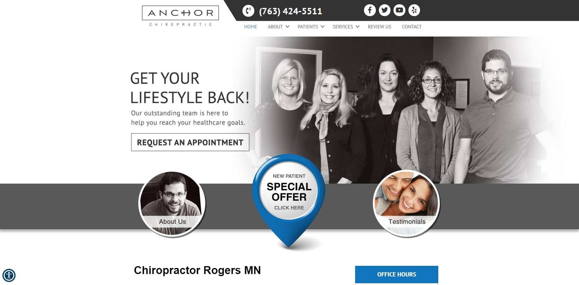 Chiropractor in Rogers