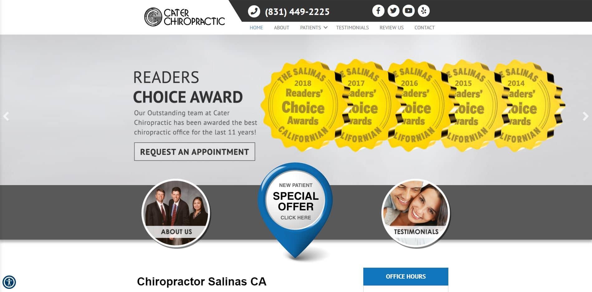 Chiropractor in Salinas