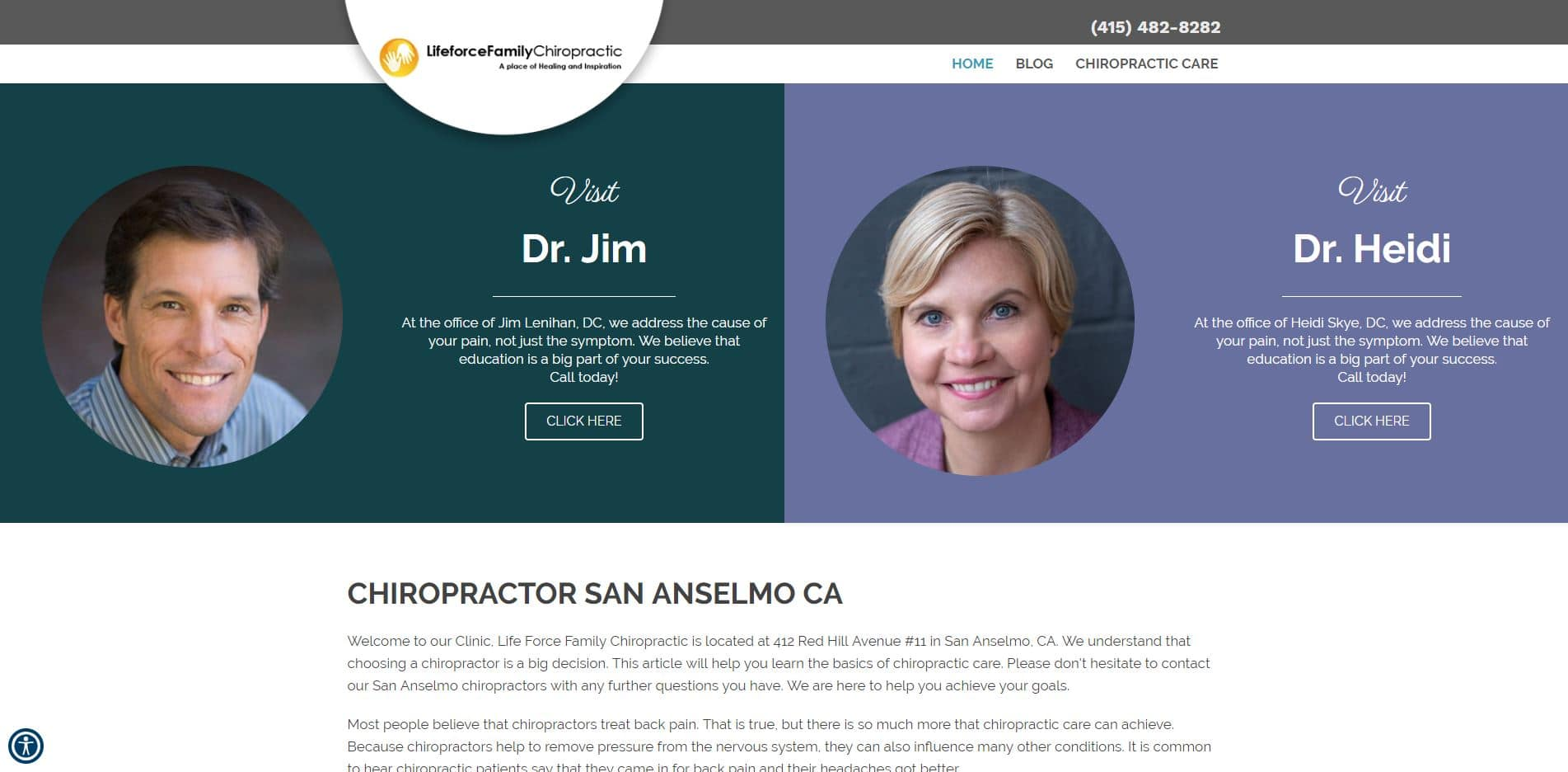 Chiropractor in San Anselmo