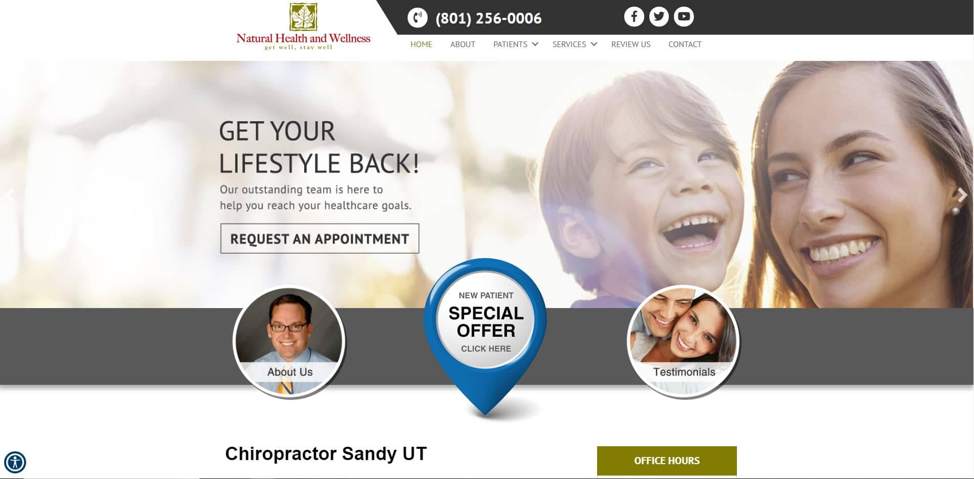 Chiropractor in Sandy