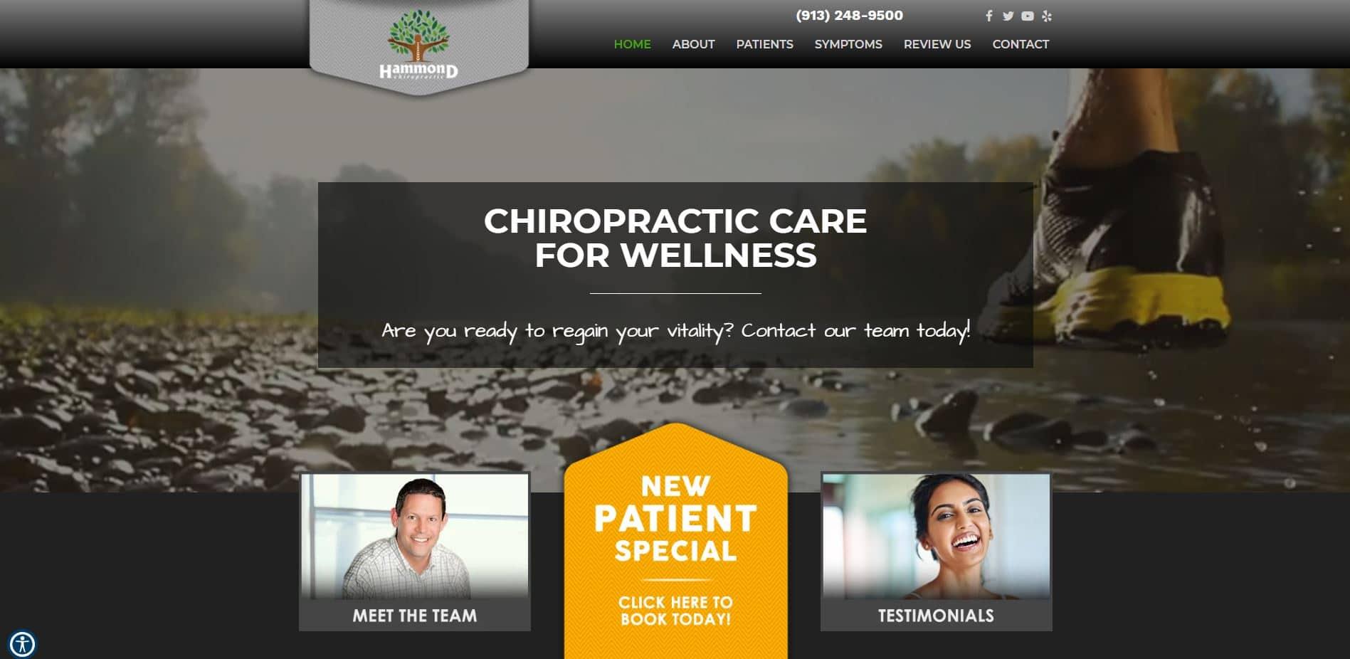 Chiropractor in Shawnee
