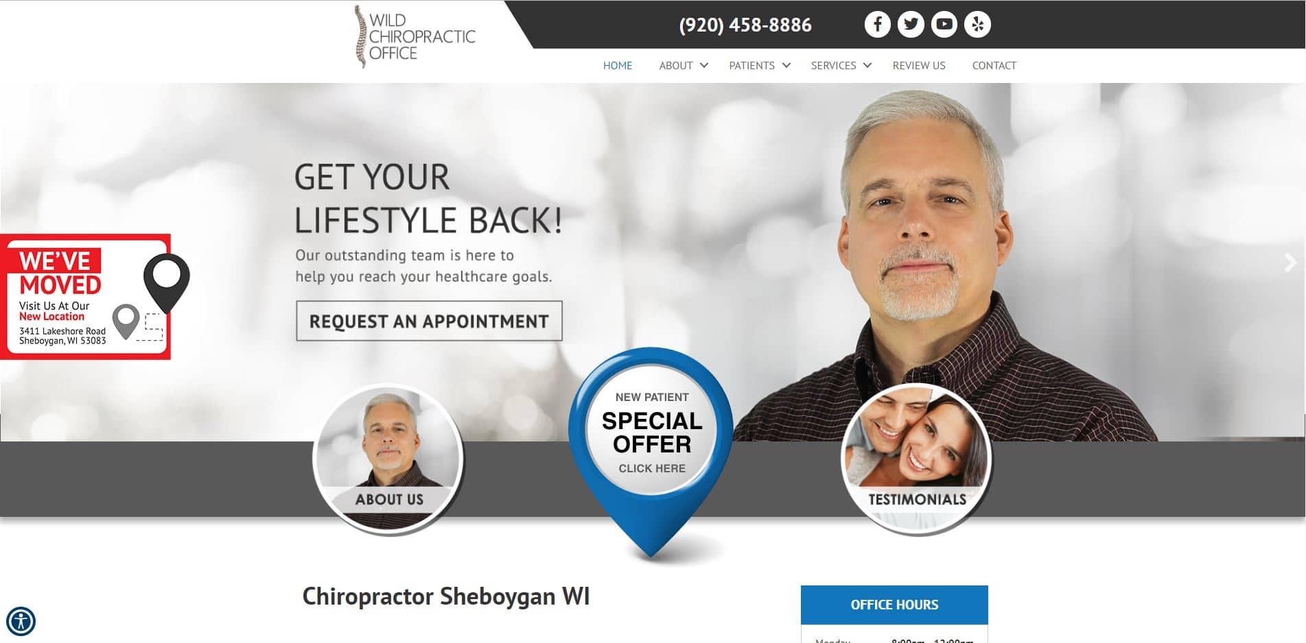 Chiropractor in Sheboygan
