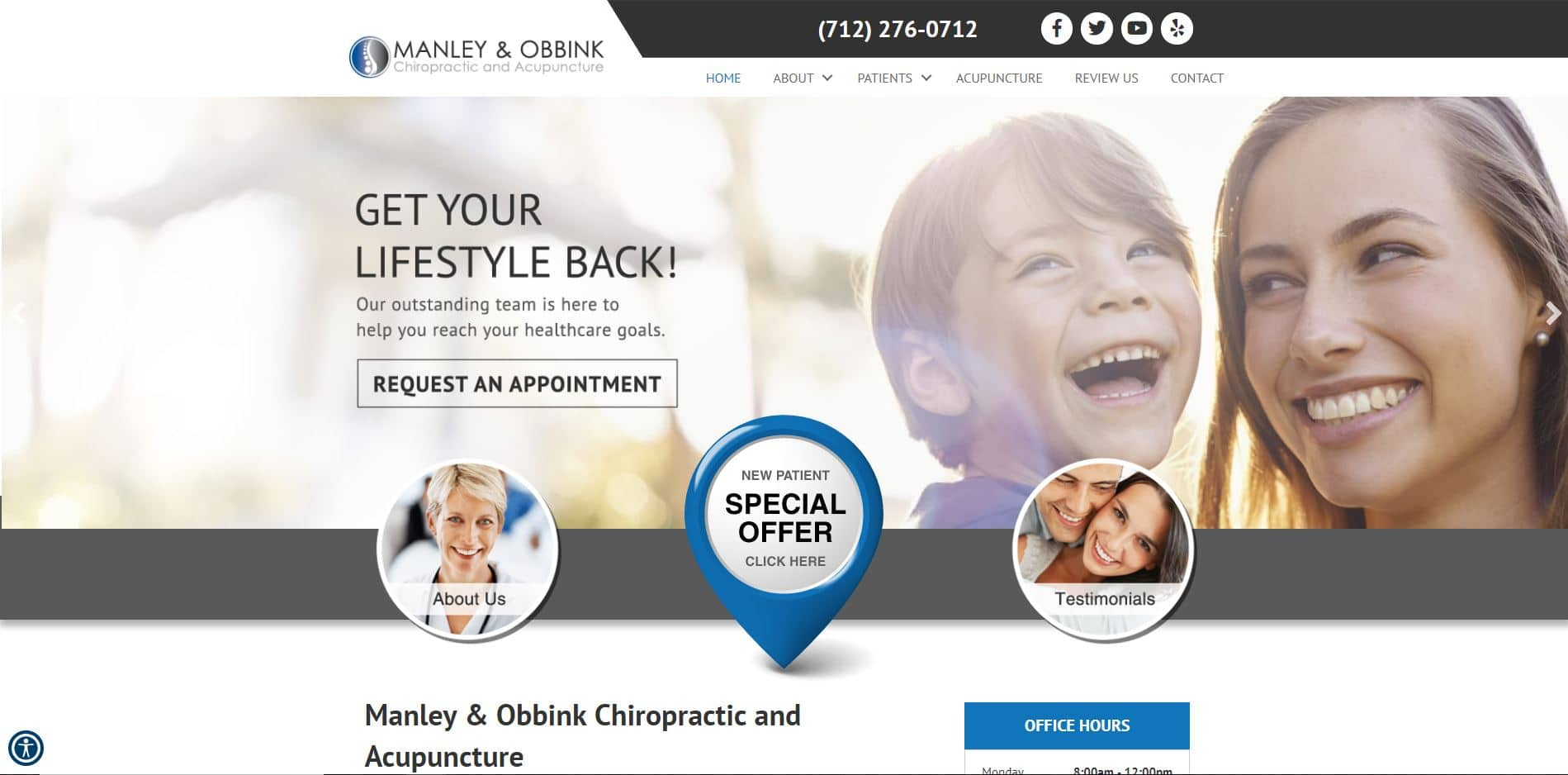 Chiropractor in Sioux City