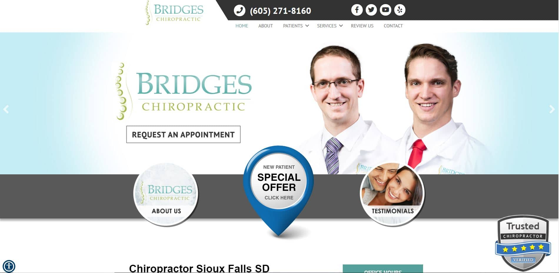Chiropractor in Sioux Falls