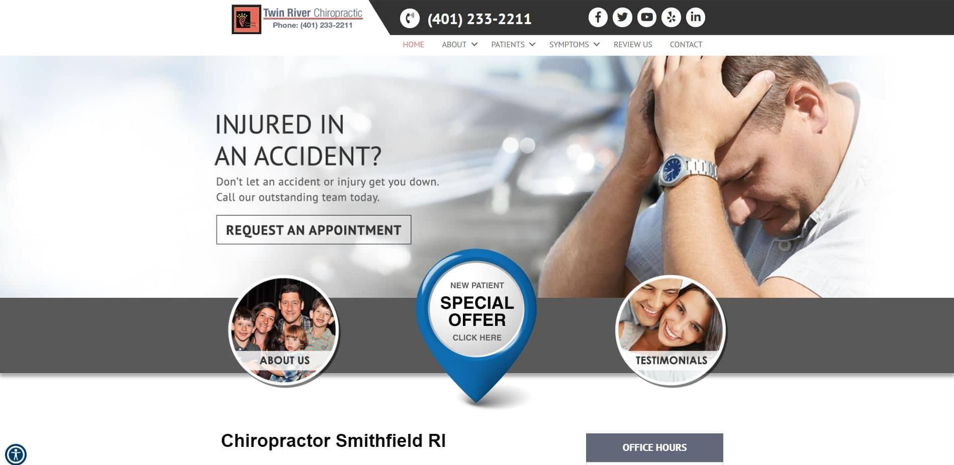 Chiropractor in Smithfield