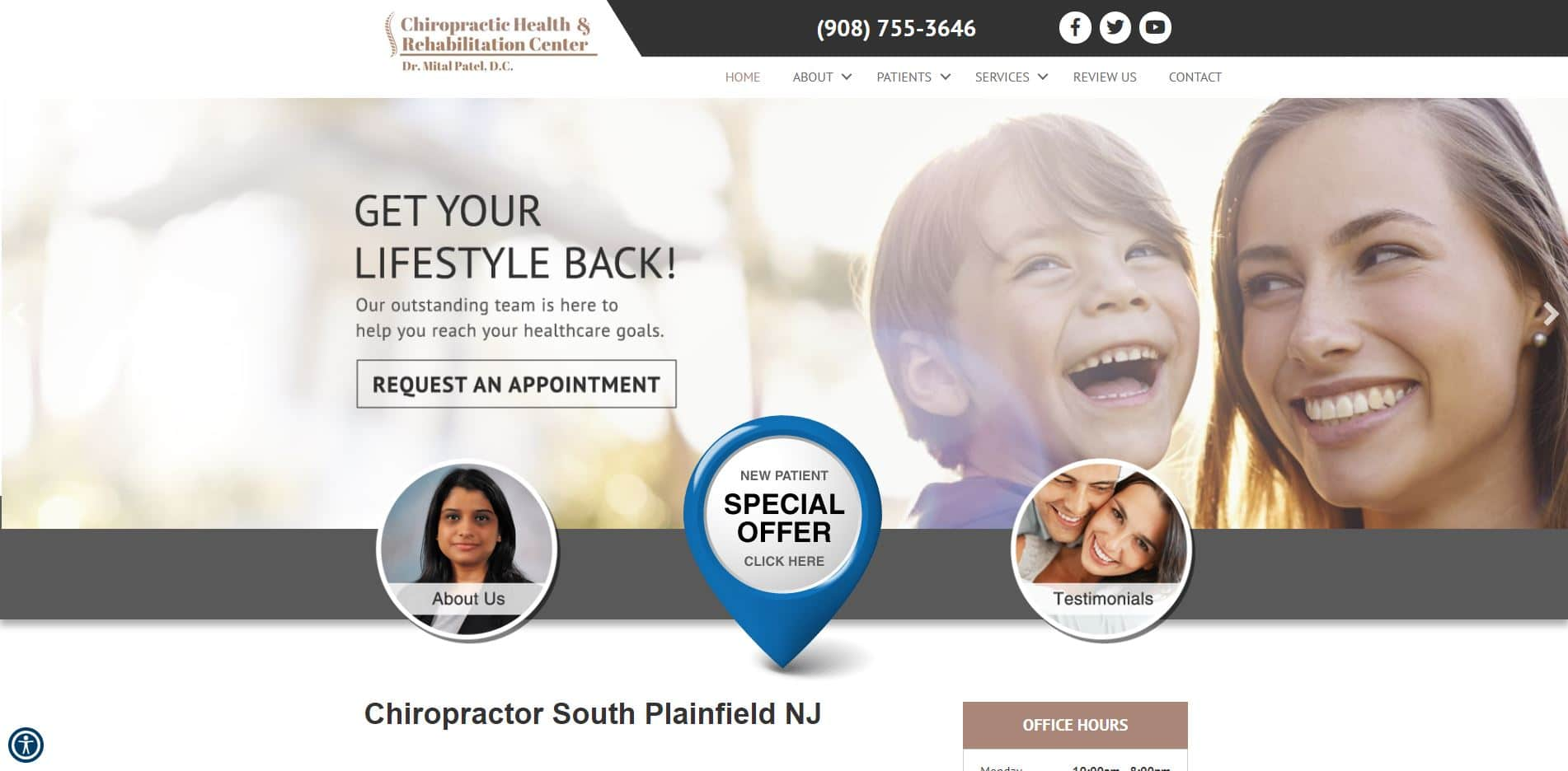 Chiropractor in South Plainfield