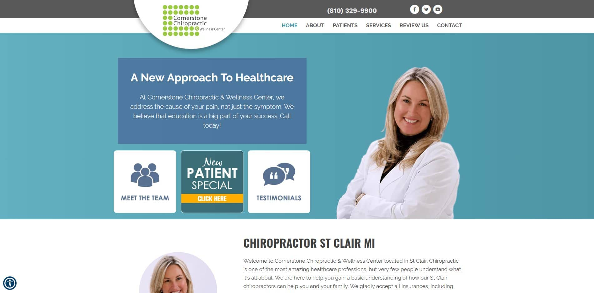 Chiropractor in St. Clair