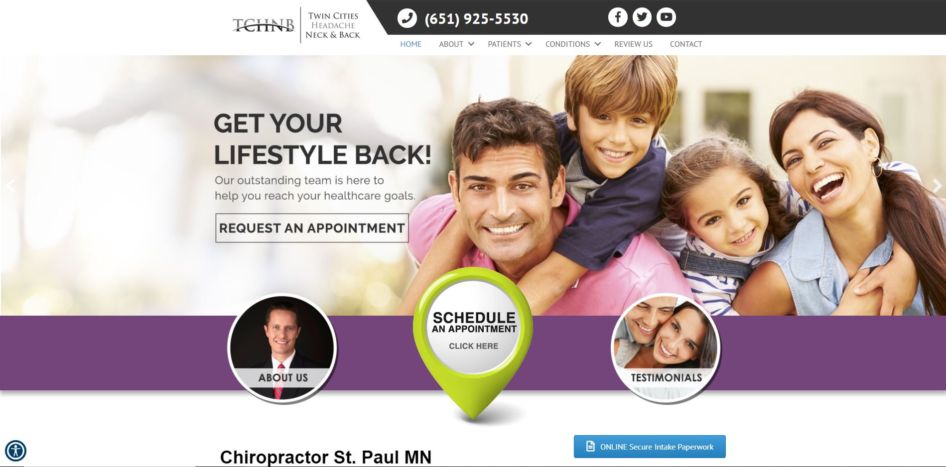 Chiropractor in St. Paul