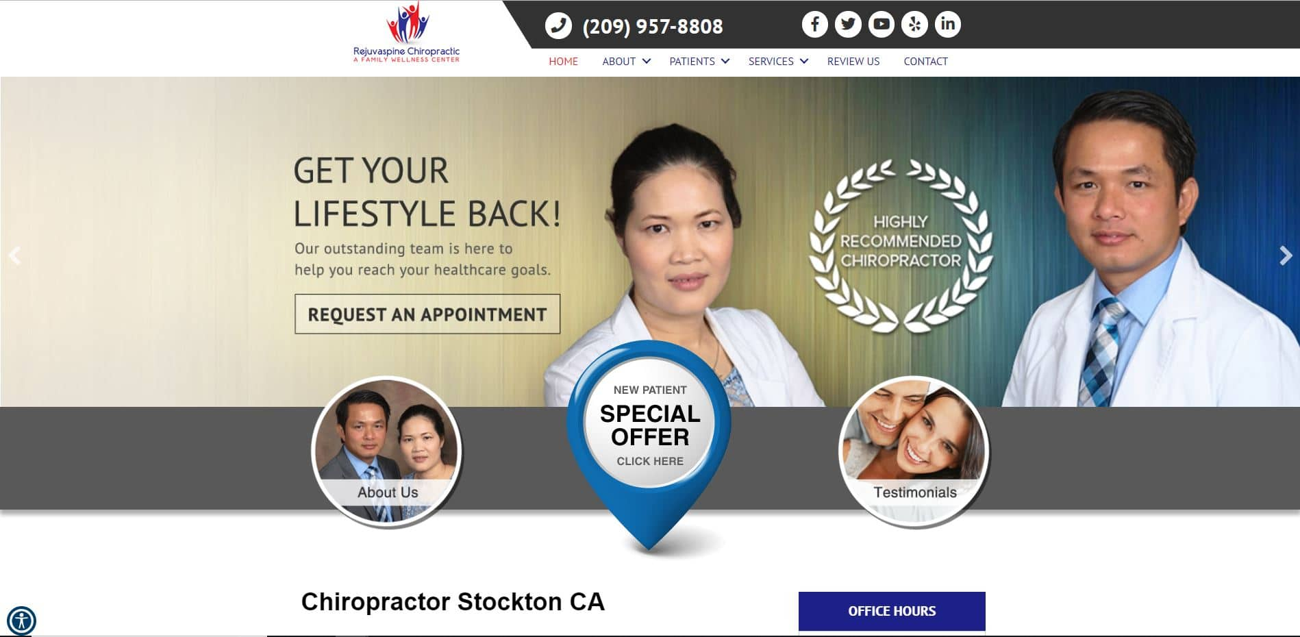 Chiropractor in Stockton