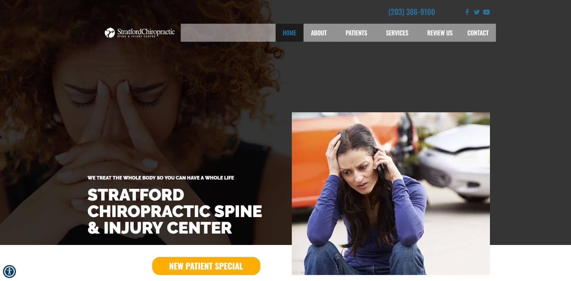 Chiropractor in Stratford