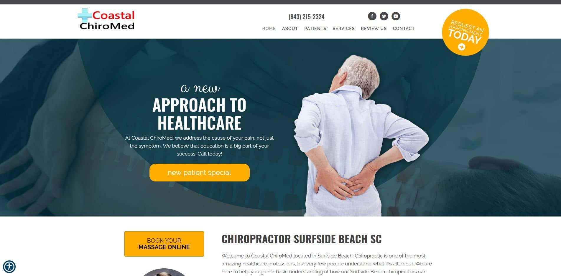 Chiropractor in Surfside Beach