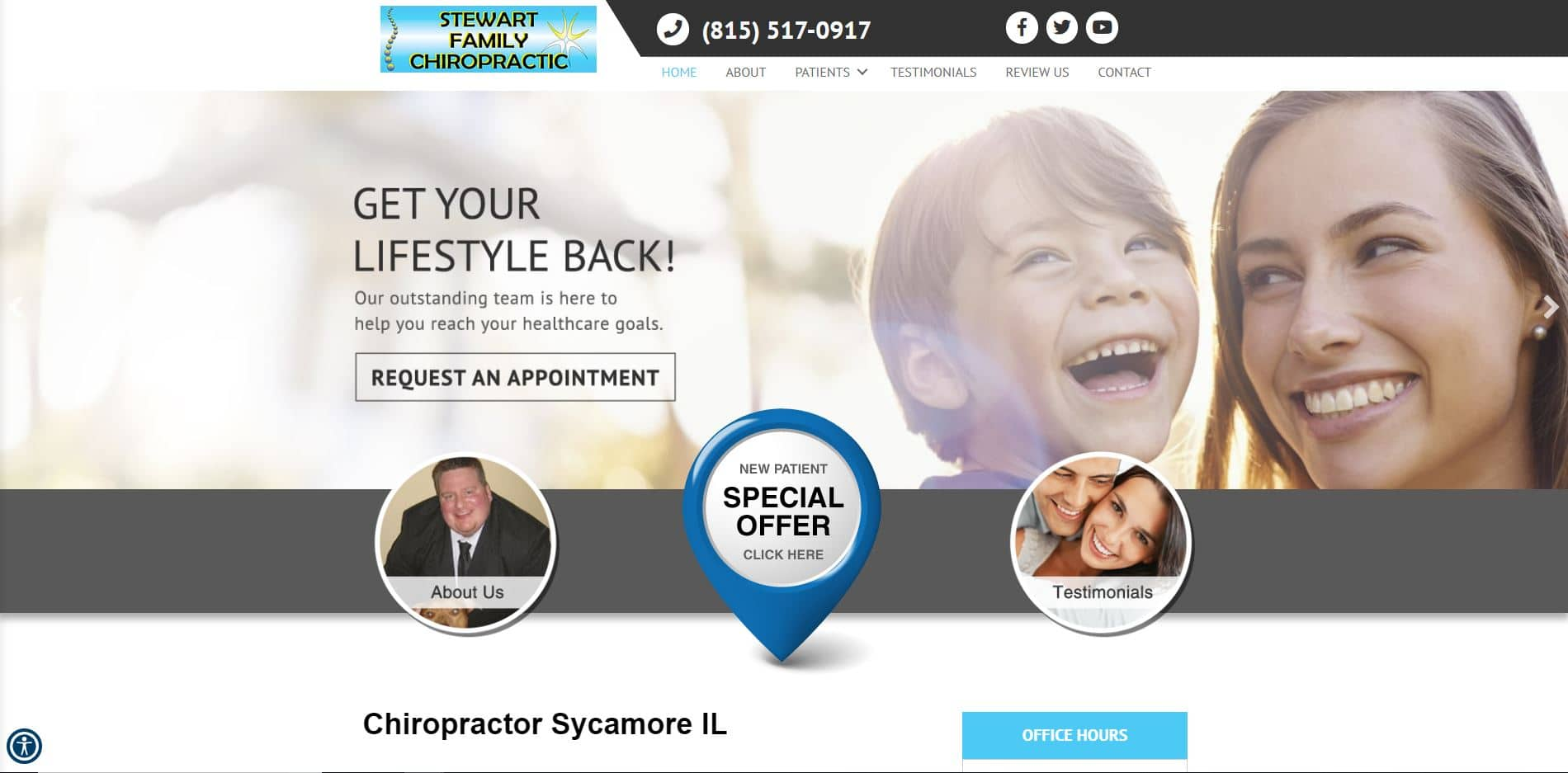 Chiropractor in Sycamore