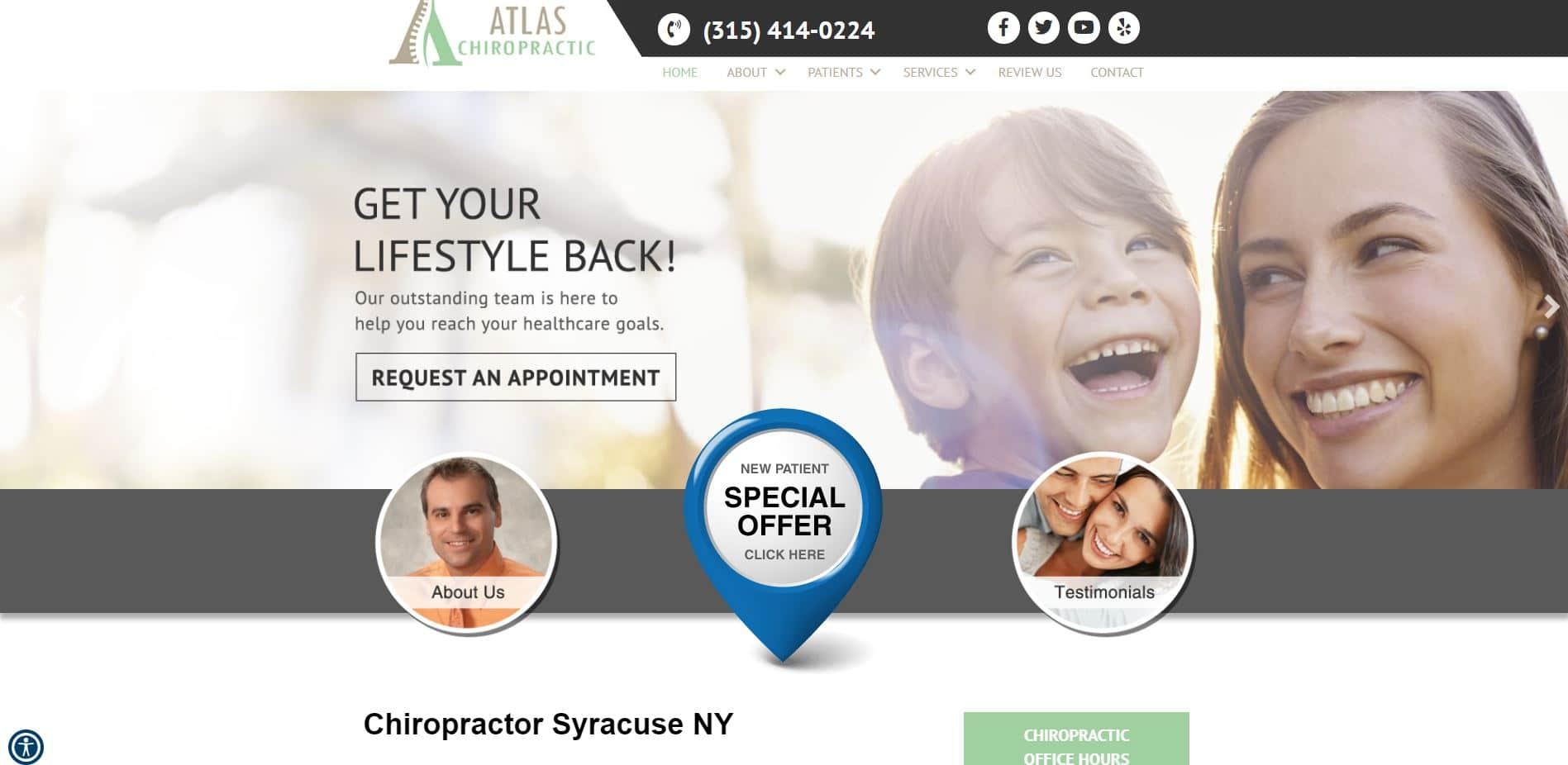 Chiropractor in Syracuse
