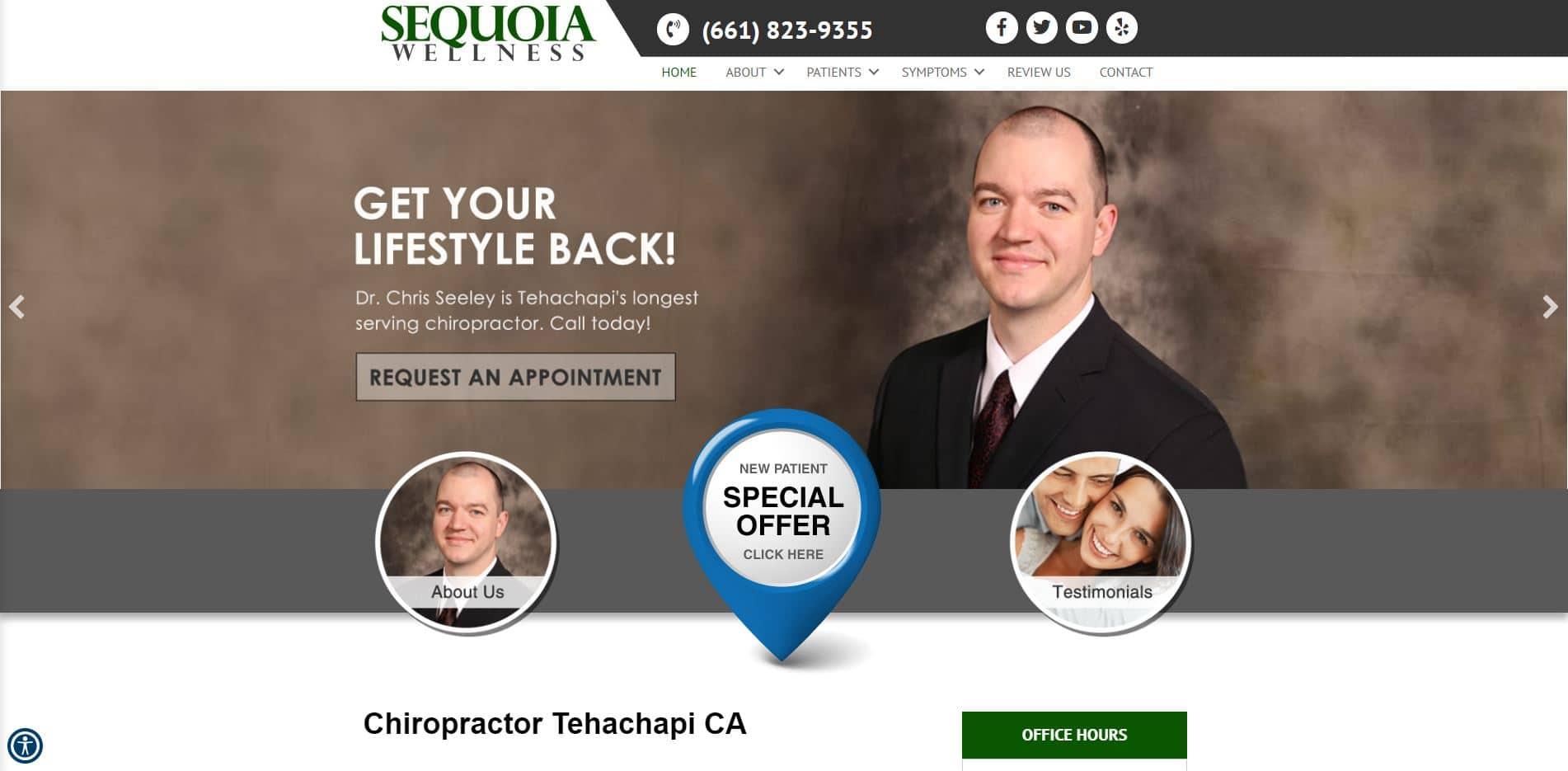 Chiropractor in Tehachapi