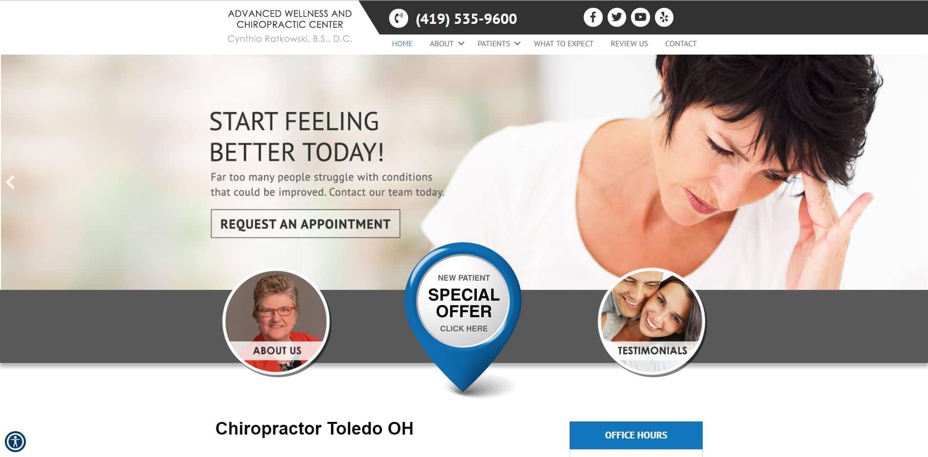 Chiropractor in Toledo