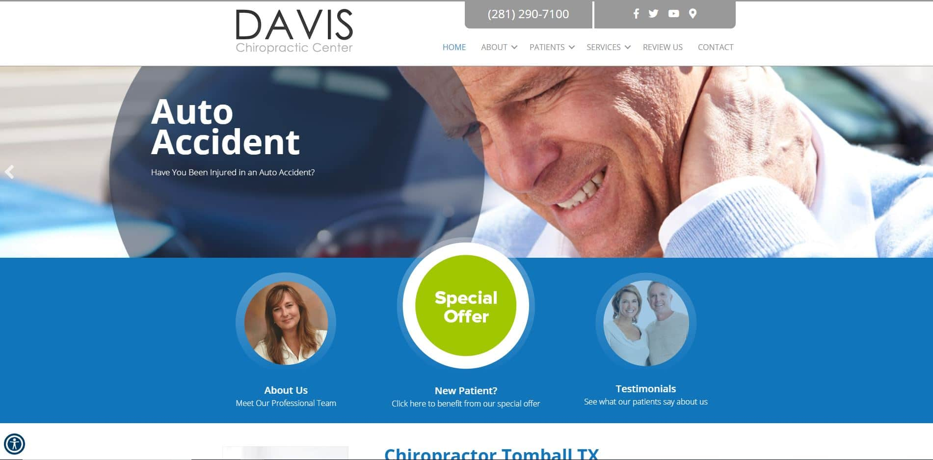 Chiropractor in Tomball