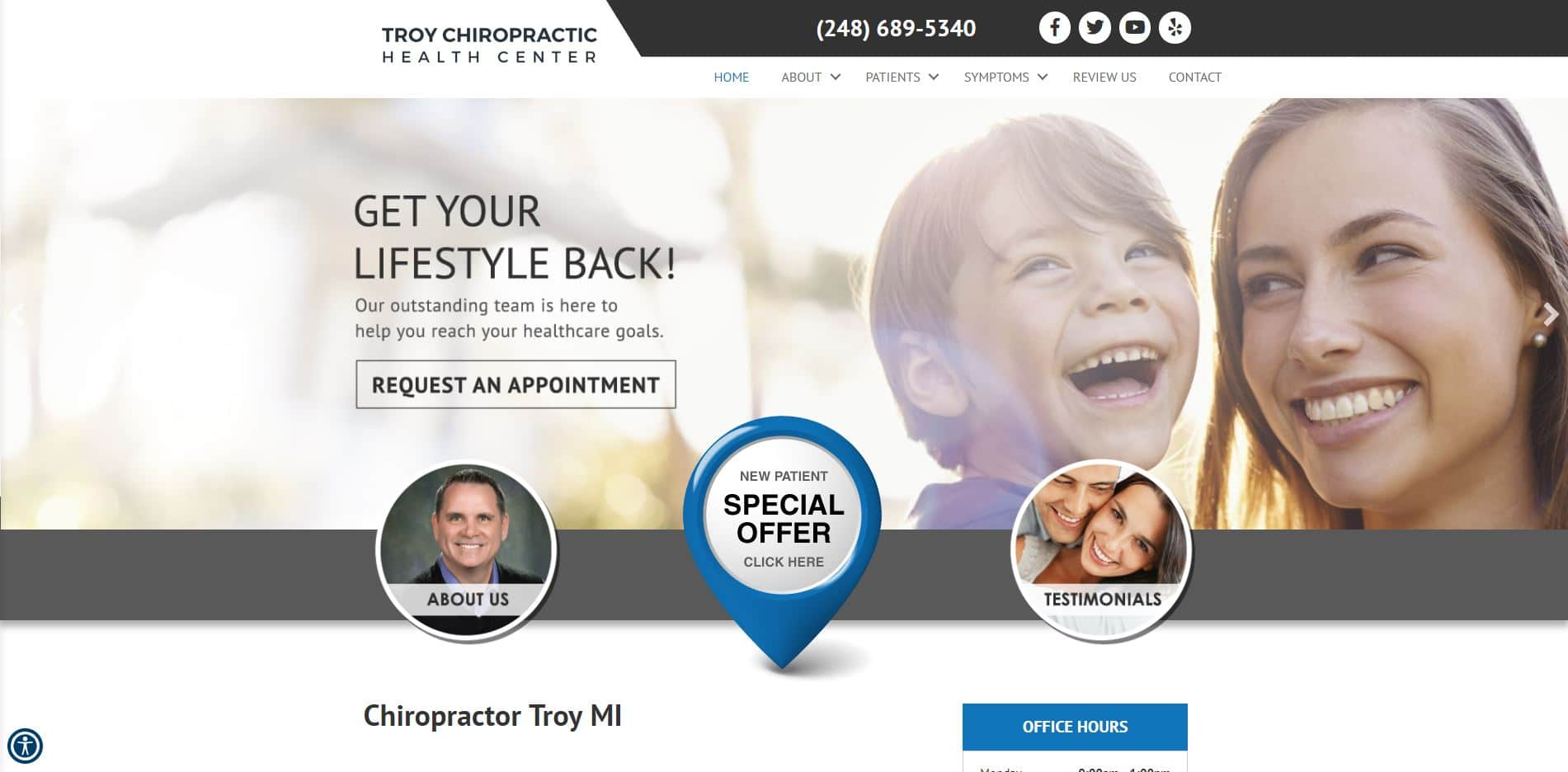 Chiropractor in Troy