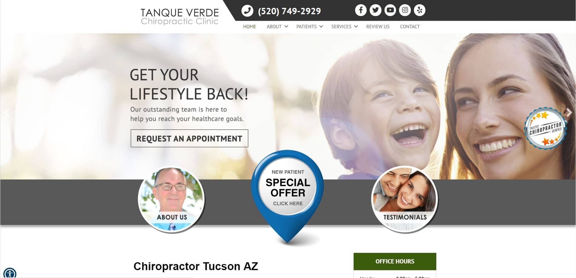 Chiropractor in Tucson