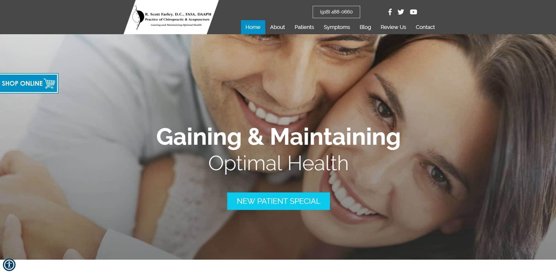 Chiropractor in Tulsa