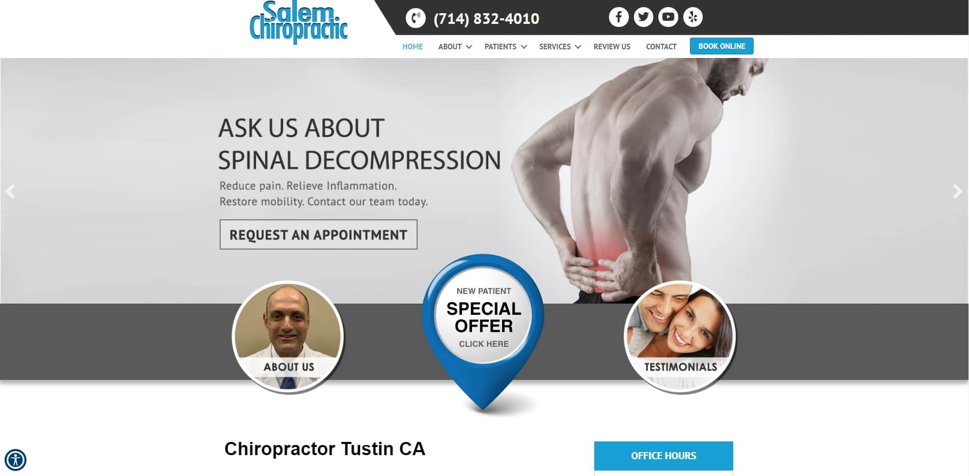 Chiropractor in Tustin