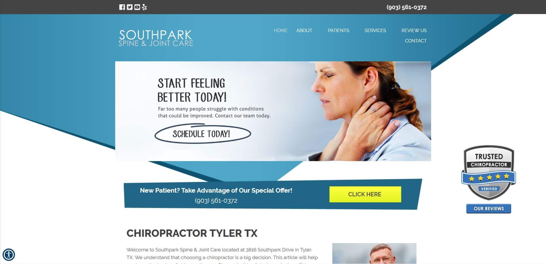 Chiropractor in Tyler