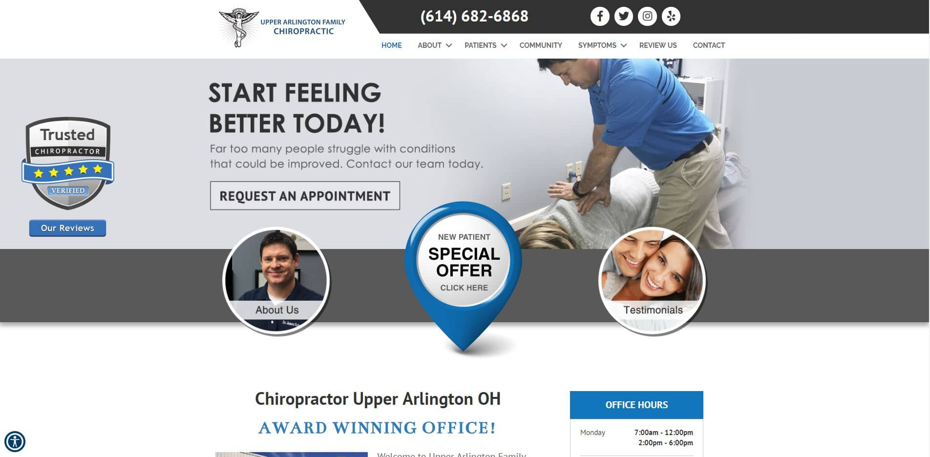 Chiropractor in Upper Arlington
