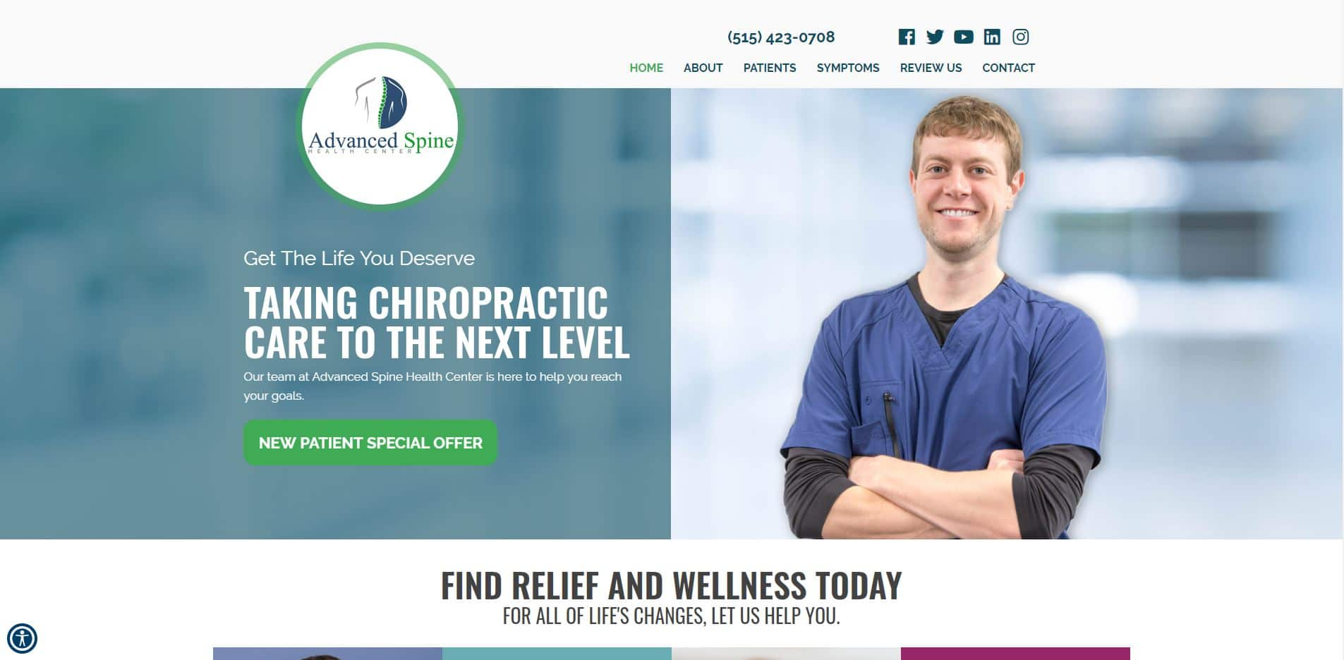 Chiropractor in Urbandale