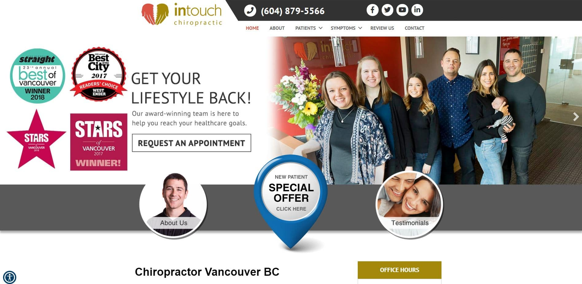 Chiropractor in Vancouver
