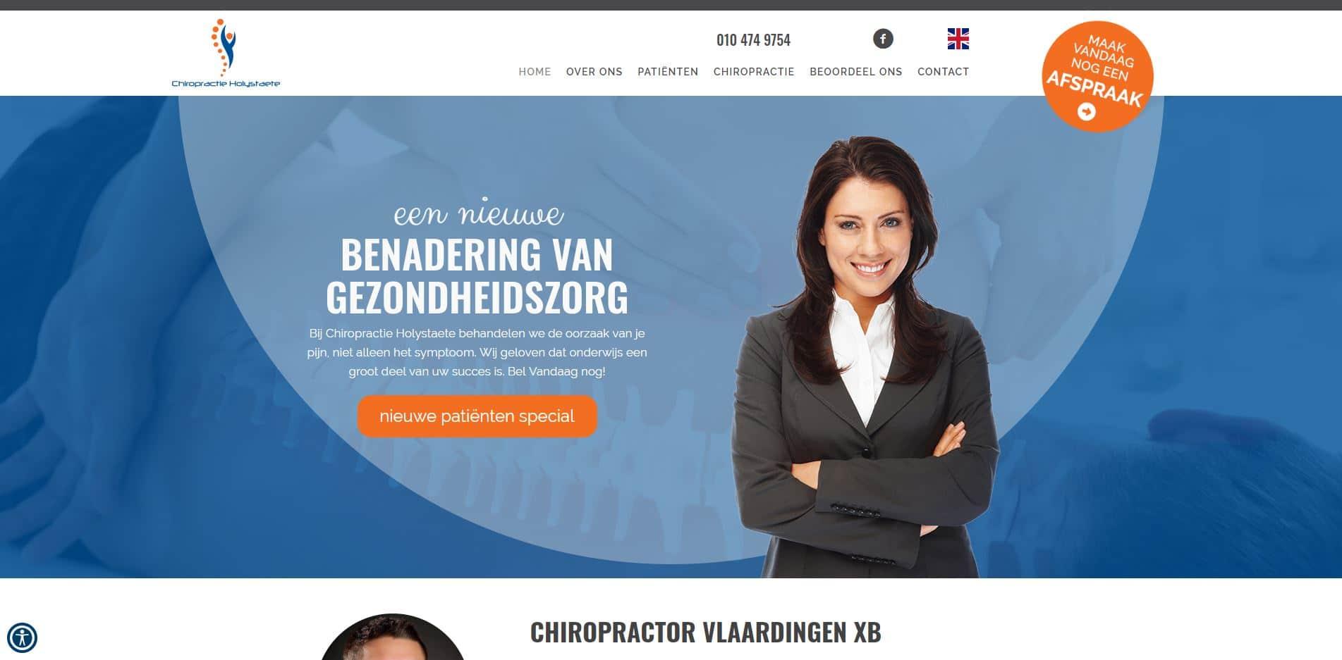 Chiropractor in Vlaardingen
