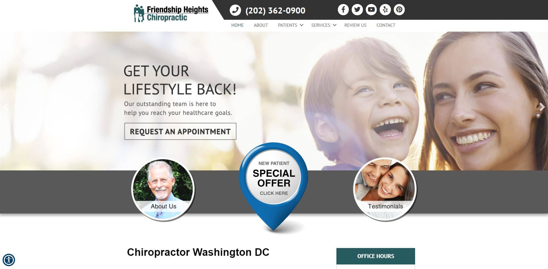 Chiropractor in Washington, DC