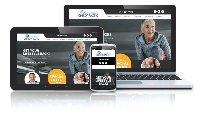 Web Design for Chiropractic Drs