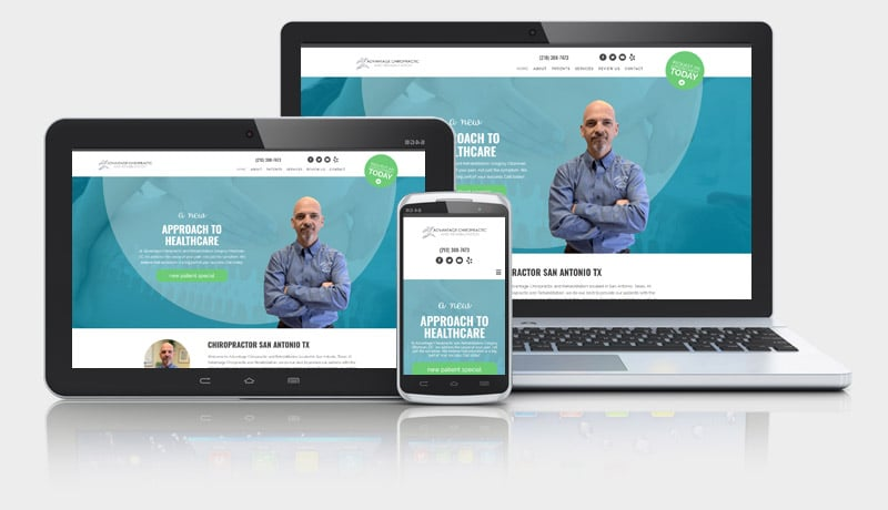 Chiropractic Office Website Design