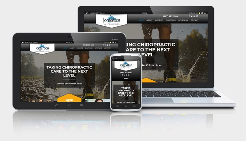 New Chiropractic Website with Video