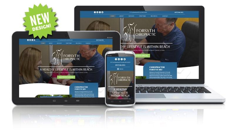 Chiropractic Responsive Website Design