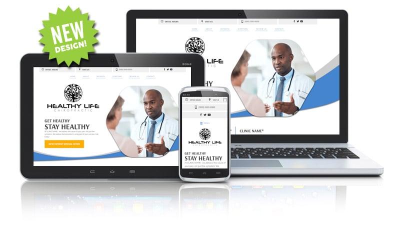 Unique Web Design for Chiropractic Clinics