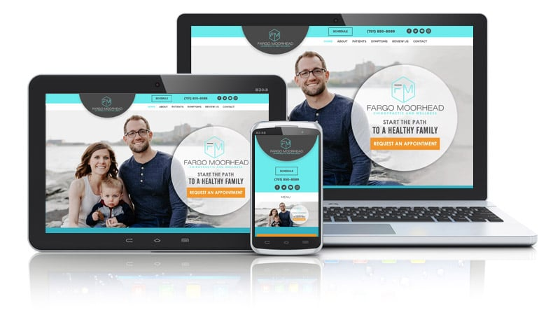 Family Chiropractor Website
