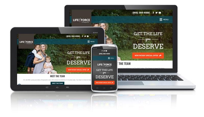 Website Design for Chiropractors