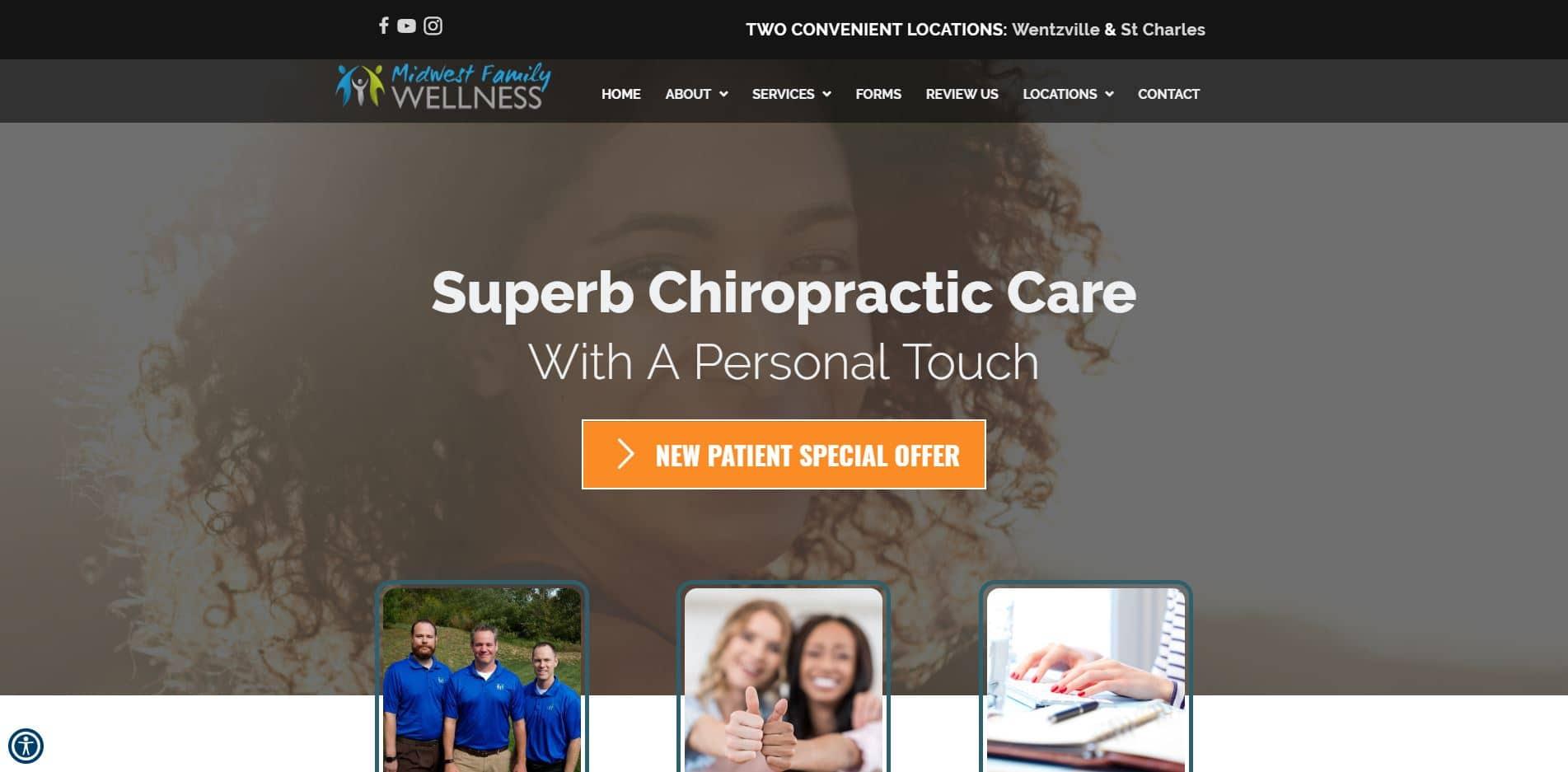 Chiropractor in Wentzville