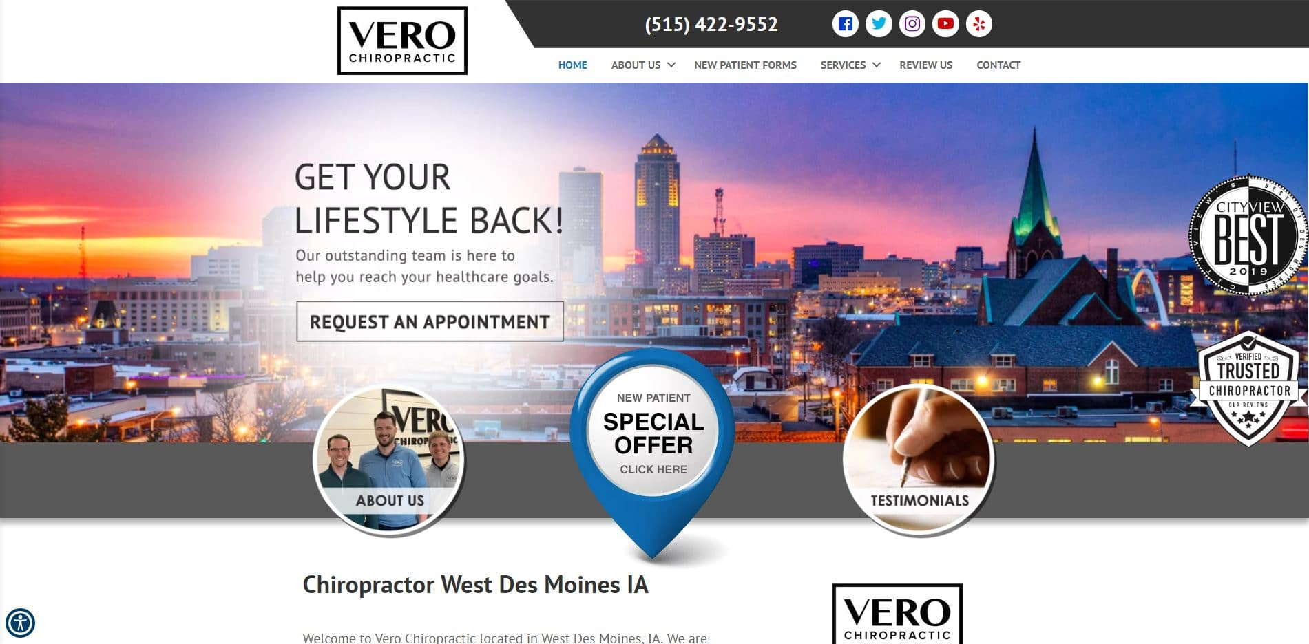Chiropractor in West Des Moines