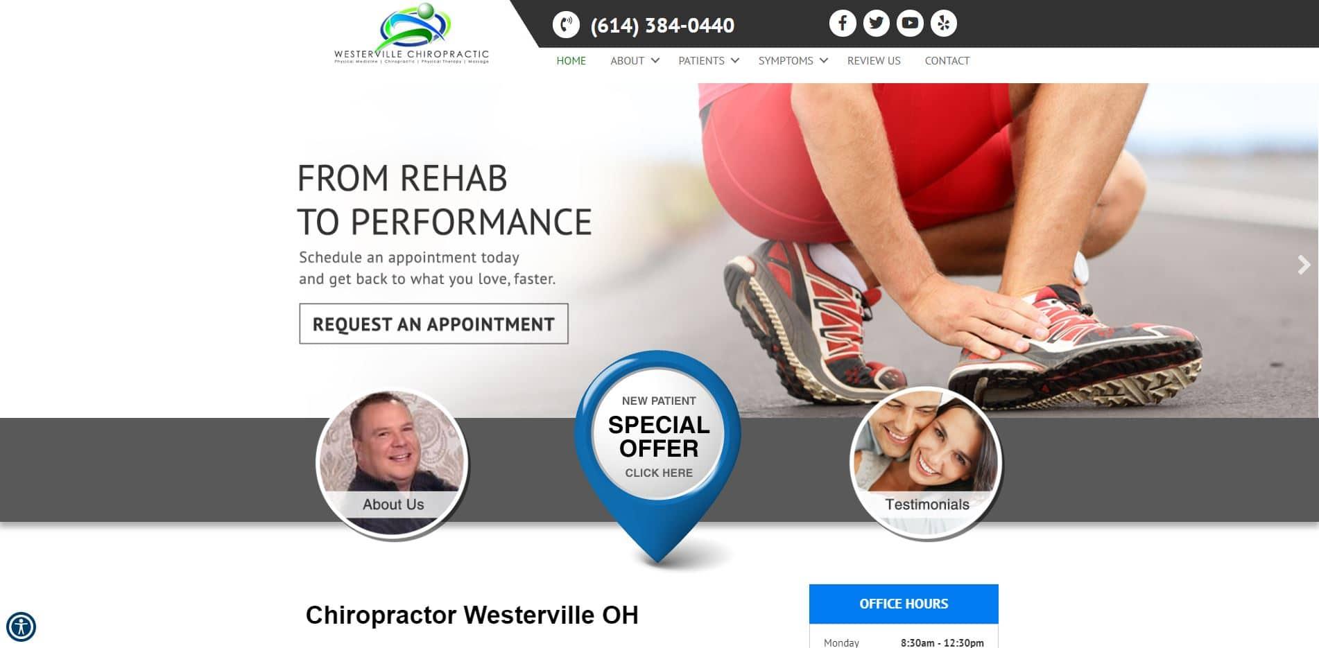Chiropractor in Westerville