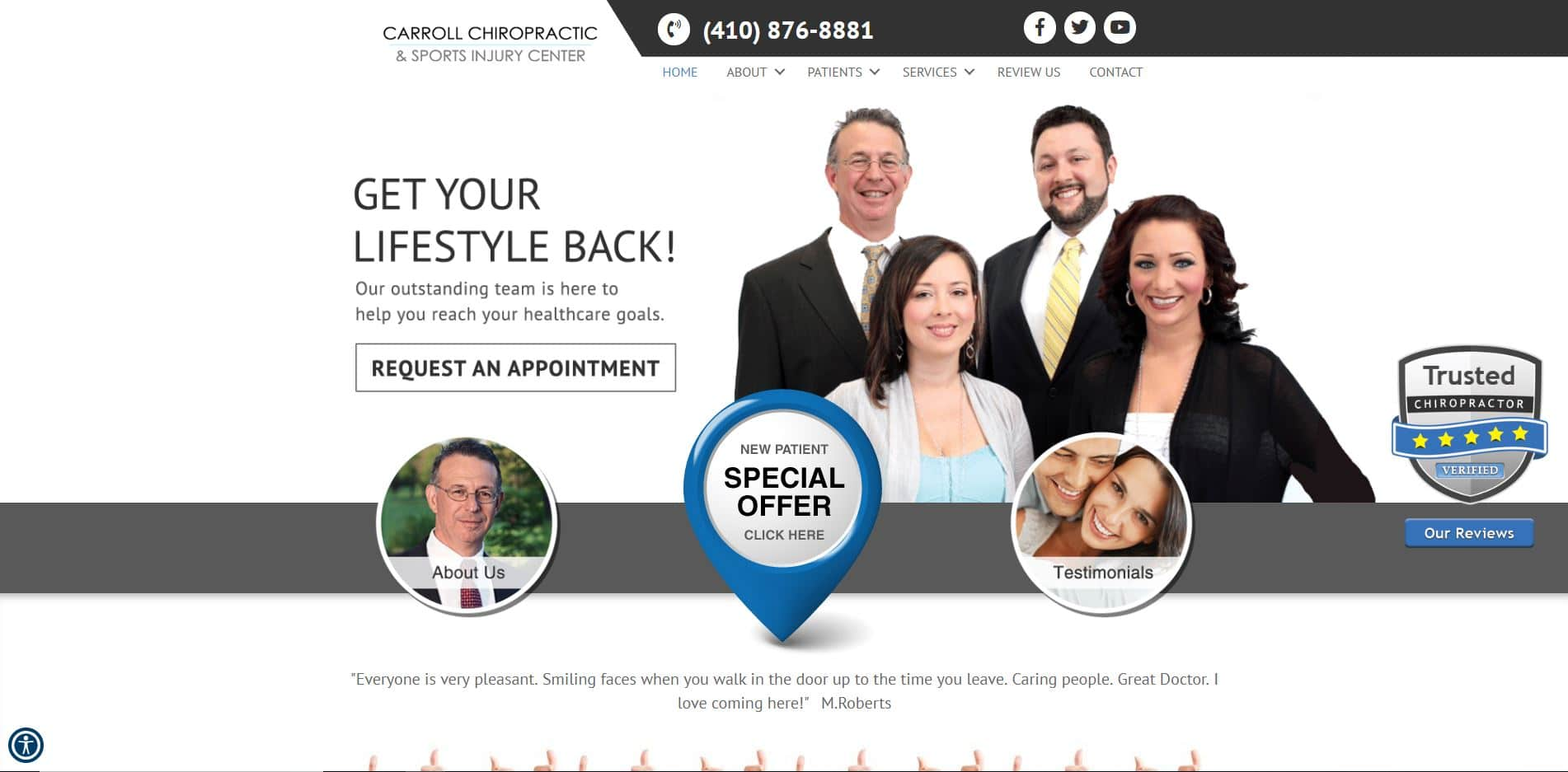 Chiropractor in Westminster