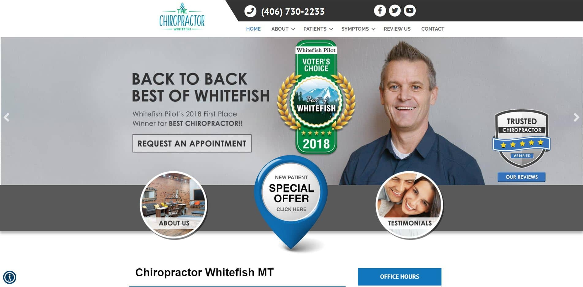 Chiropractor in Whitefish